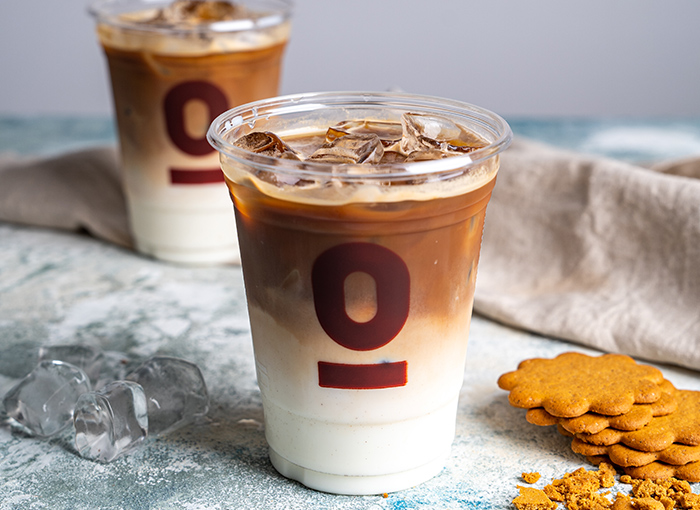 Gingerbread Iced Latte